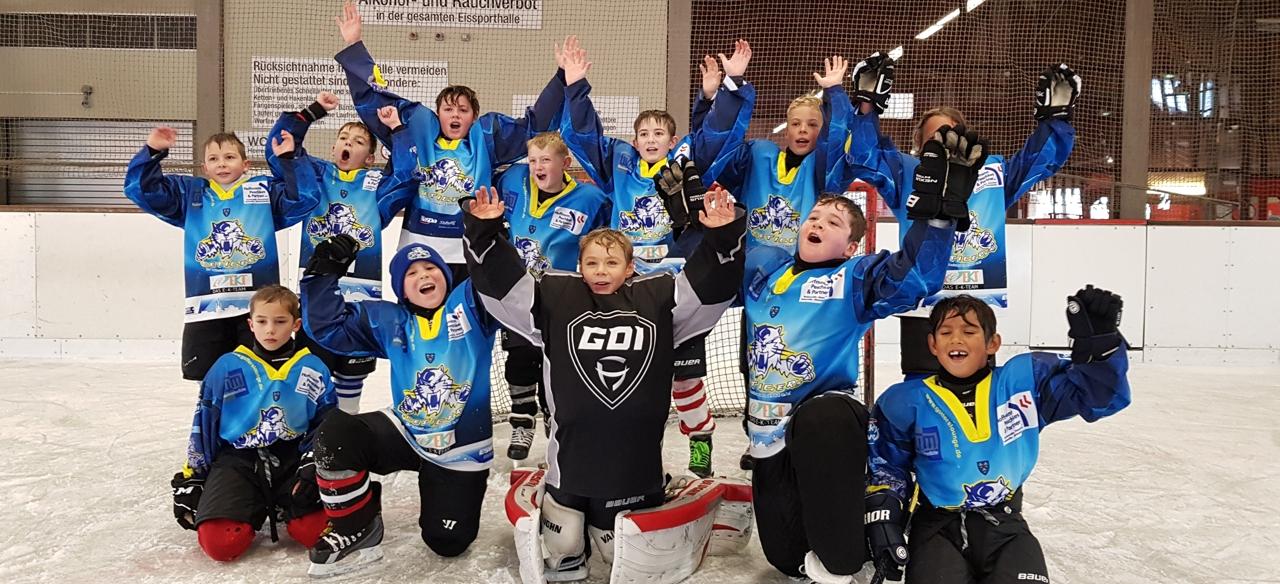 Ice Tigers-Nachwuchs holt Sieg beim Kids Cup in Aschaffenburg